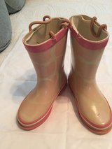 Toddler size 10 Pink Boots in The Woodlands, Texas