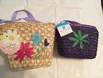Adorable Girl's Woven Straw Purses in Kingwood, Texas