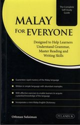 Malay for Everyone, language text book, brand new in Okinawa, Japan