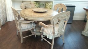 Handpainted Table and Chairs in Beaufort, South Carolina