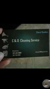I clean homes in Leesville, Louisiana