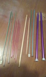 Reduced Price - Assorted Knitting/Crochet Needles in Warner Robins, Georgia