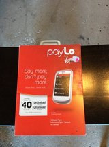 Virgin Mobile, pay lo phone, new in box in Orland Park, Illinois