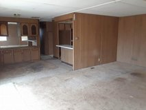 2 bedroom 2 bath double wide mobile home in Las Cruces, New Mexico