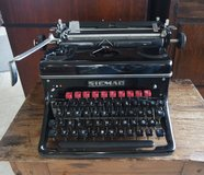 beautiful type writer from the early 1900's in Stuttgart, GE