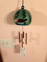 Oriental Green Pumpkin Windchime in Plainfield, Illinois