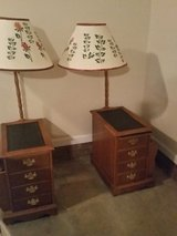 "Antique /Vintage ""Jefferson Tables"" With Lamp Shades "" in Fort Benning, Georgia"