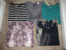 Ladies size L lot of short sleeved tops in Fort Benning, Georgia