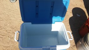 Ice chest in Yucca Valley, California