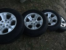 2015/2016 Chevy Wheels and tires 85-90% tread left!!! in Byron, Georgia