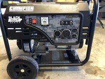 3500wt champion blackout edition generator in Fort Lewis, Washington