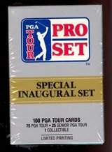 NEW 1990 PGA Tour Pro Set Limited Edition Box Set 100 Trading Cards Inaugural Set in Morris, Illinois