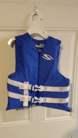 Youth life jacket in Fort Campbell, Kentucky