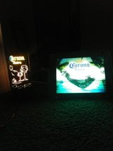 Corona extra electric/sound beer sign&lamp in Fort Campbell, Kentucky