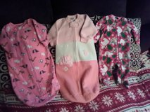 3-12 months Rompers Warm Snap Baby Girls Disney and Carter!! in Fort Campbell, Kentucky
