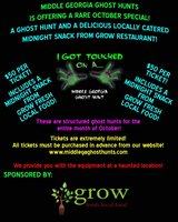 Come Get Your SPOOK On! Public Ghost Hunts at a AUTHENTIC Haunted Location! in Byron, Georgia