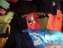 Boys Tees and Jeans and Hat sz 4T-8- in Fort Campbell, Kentucky