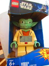Lego Star Wars Yoda Alarm Clock in Orland Park, Illinois