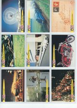 1992 Pro Set Guiness Book of Records Trading Cards in Fort Riley, Kansas