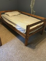Twin Wood Bed Frame in Aurora, Illinois