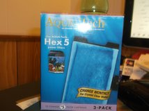 aqua-tech hex 5 power filters (2) in Alamogordo, New Mexico