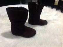 Toddler Girls Brown Boots 7 in Fort Campbell, Kentucky