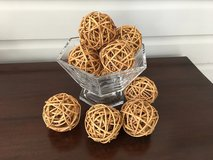 Vase Fillers - Set of 10 Decorative Woven Balls in Westmont, Illinois