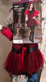 Red Hooded Cutie Costume in Cherry Point, North Carolina