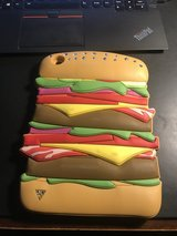 Ipad mini cover - Hamburger Bling Cover - Super Cute! Made of thick Rubber - Durable in Camp Pendleton, California