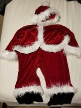 Santa costume for toddler in Lockport, Illinois