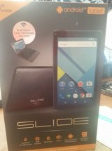 """9"""" Android Slide Tablet (near new) in 29 Palms, California"""