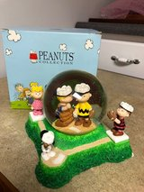 Peanuts Baseball Musical Snow Globe in Aurora, Illinois
