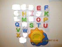 Leap Frog Fridge Phonics Sun Base Replacement Letters in Glendale Heights, Illinois