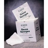 "NIB! ""Caring"" Woven STERILE Gauze Sponges – 4"" x 4""/8 ply - Box of 50 in St. Charles, Illinois"