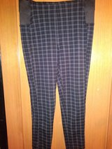 Black pattern pants in The Woodlands, Texas