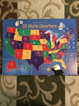50 State Quarters collector display in Kingwood, Texas