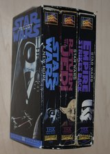 Star war vhs movies in The Woodlands, Texas