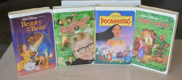Kids Disney vhs movies in Conroe, Texas