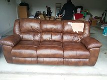 brown couch in Byron, Georgia