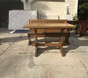 Italian Table and bench in Fort Bragg, North Carolina