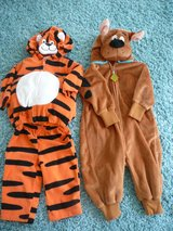 12 monthTigger and 18-24 month Scooby Doo Halloween costumes in Camp Lejeune, North Carolina