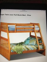 Bunk bed in Bolingbrook, Illinois