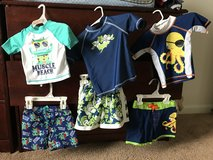 Baby, toddler swim trunks, shirt in Belleville, Illinois