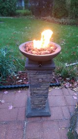 Firebowl Column Propane Powered in Schaumburg, Illinois