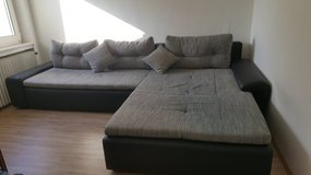 NOW ONLY 275 EURO Corner sofa - REDUCED AGAIN, MUST GO !! in Spangdahlem, Germany
