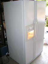 Refrigerator- Large Side By Side-Kenmore-WATER AND ICE IN DOOR in Macon, Georgia
