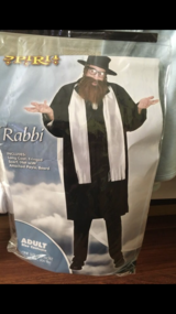 Rabbi costume like Nes in Camp Pendleton, California