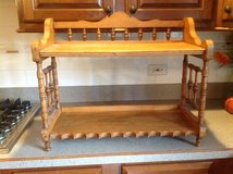 Antique oak bookcase in St. Charles, Illinois