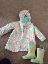 3T Raincoat and Boots in Lockport, Illinois