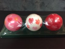 Round Heart Candles in Lockport, Illinois
